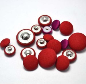 Cotton Fabric Covered Button, Customized Size, Free Samples pictures & photos