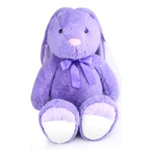 china plush musical rabbit bunny toy with verse slogan china