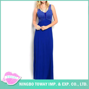 Cheap Blue Prom Dinner Evening Special Occasion Dresses pictures & photos