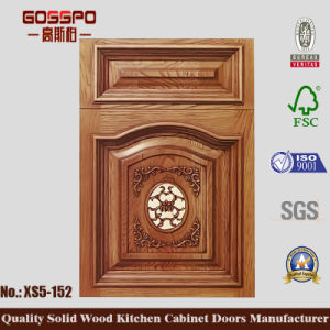 Antique Louvered Kitchen Cabinet Doors (GSP5-037) pictures & photos