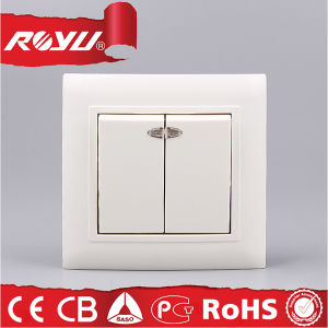 New Model 2 Gang Different Types of Electrical Wall Switches pictures & photos