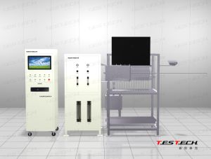 Testech Spread Flame Apparatus, Radiant Panel Flame Spread Testing Machine