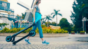 Koowheel Outs Foldable and Portable Mini Electric Scooter pictures & photos