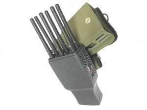 Selectable 6 Bands 3G 4G Cellphone Jammer with Nylon Case pictures & photos