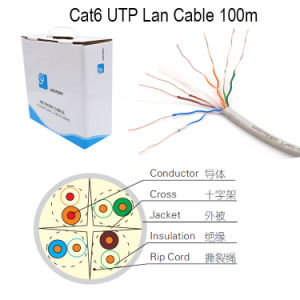 CAT6 LAN Cable UTP/FTP/STP/SFTP Network Communication Cable pictures & photos
