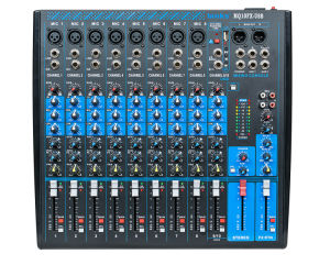 48V Phantom Power Professional Audio Mixing Sound Console (MQ10FX-USB) pictures & photos