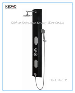 Kza-16510p Cheap Black PVC Shower Panel