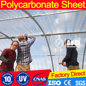 Corrugated Polycarbonate Roof Sheet for Swimming Pool pictures & photos