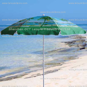 210d Oxford Beach Umbrella with UV Protection (OCT-BUO1) pictures & photos
