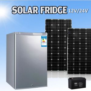 12V DC Compressor Solar Power Mini Refrigerator Freezer Fridge pictures & photos