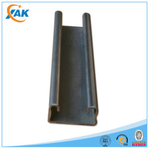 Black and Galvanized C Channel for Steel Structure