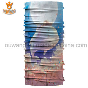 Promotional Customized Logo Printed Elastic Headwear Neckwarmer pictures & photos