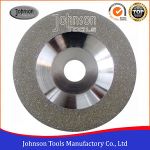100-180mm Convex Continuous Electroplated Cup Wheels for Marble and Granite Grinding pictures & photos