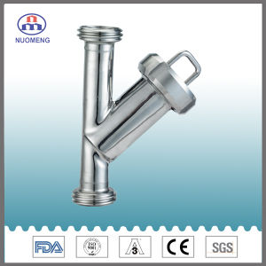 Sanitary Stainless Steel Clamped Y-Type Strainer (IDF-No. NM100208) pictures & photos