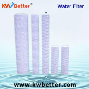 "PP String Wound Water Filter Cartridge for Deionized Water 10"" 20"""