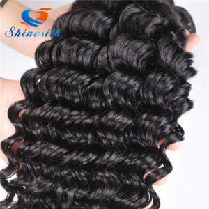 10A Grade Peruvian Human Hair Unprocessed Virgin Deep Curly Hair Weaving pictures & photos