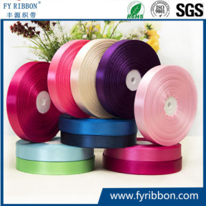 D-purple Single Face Satin Ribbon Wholesale Gift Wrapping Christmas ribbons
