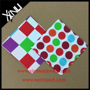 Mens Fashion Custom Print Wholesale Silk Pocket Squares pictures & photos