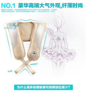 Tapping Neck and Shoulder Massage Belt pictures & photos