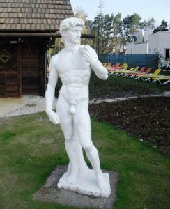 David Marble Statue, Garden Decoration Sculpture And Outdoor Statue