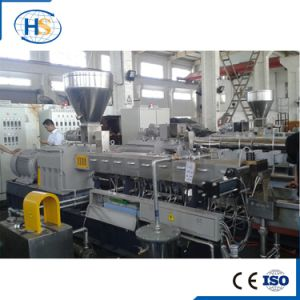 CE PA+Glass Fiber Plastic Twin Screw Extruder for Compounds
