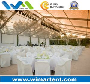 20X50m Beautiful Transparent Aluminum PVC Tent for Wedding