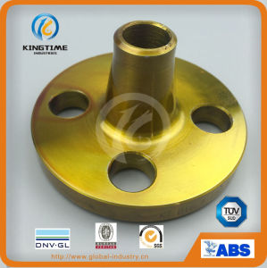 Carbon Steel Weld Neck Flange Forged Flange A105n to ASME B 16.5 (KT0163) pictures & photos