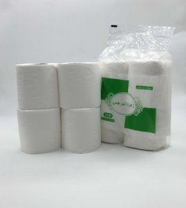 Recycle Print Logo 4 Roll Per Bag Tolilet Tissue Paper pictures & photos