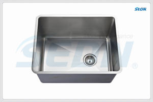 Handmade Single Bowl Stainless Steel Sinks (SE1005) pictures & photos