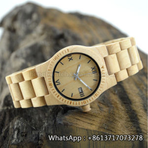New Environmental Protection Japan Movement Wooden Fashion Watch Bg147 pictures & photos