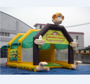 Factory Supply Monkey Inflatable Jumping Toy
