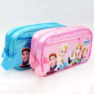 Children PVC Pencil Bag with Frozen Elsa Cartoon pictures & photos