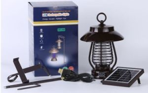 China Outdoor Lamp Electric Mosquito Killing Machine Solar Insect