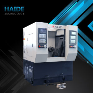 Horizontal Slant Bed CNC Lathe with 2 Axles