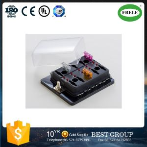 china more than 10 road with led fuse box 10 road fuse box insert rh fbelemould en made in china com