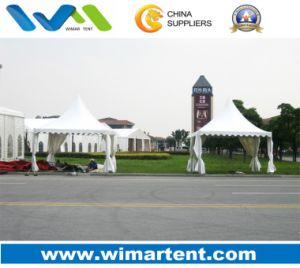 4mx4m White Aluminum PVC Pagoda Reception Tent