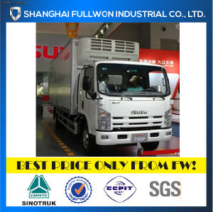 Isuzu Chassis 700p 4X2 10 Ton Refrigerated Truck pictures & photos