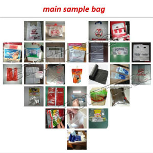 Five Lines Plastic Calendar Bag Making Machine Bottom Cutter pictures & photos