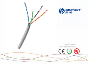 UL Listed Cat 5e Cable pictures & photos
