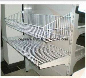 Supermarket & Store Display Equipment / Metal Gondola Storage Shelf & Rack System pictures & photos