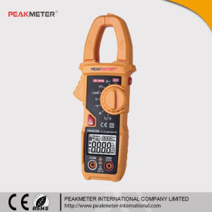 6000 Counts Capacitance Frequency Temperature Lowz Test Clamp Ampere Meter