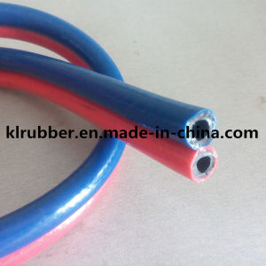 High Pressure Flexible Rubber Oxygen Hose with Hydraulic Fitting pictures & photos