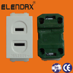 2 Pin Socket/Regular Outlet / Universal Outlet 10A 250V (AF6009) pictures & photos
