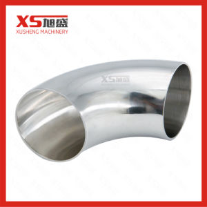 SS304 Stainless Steel Sanitary 90 Degree Bends pictures & photos