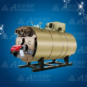 Gas Fired Condensing Bearing Hot Water Boiler for Industry