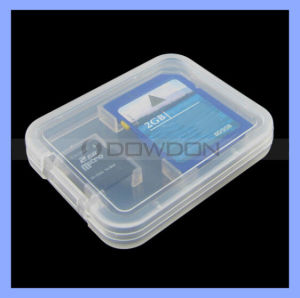 2 in 1 Plastic Memory Card Case for SD Micro SD TF Card pictures & photos