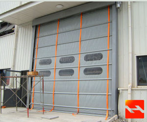 Automatic Door Stacking Folding Gate High Speed Door pictures & photos