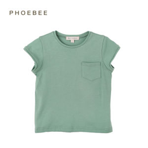 Phoebee 100% Cotton Summer T-Shirt for Boys and Girls pictures & photos