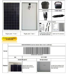 305W Poly Solar Panel with TUV/CE Approved (ODA305-36-P) pictures & photos