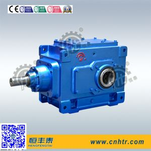 Hb Series High Power Industrial Right Angle Vertical Type Bevel Gear Unit